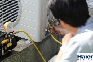 haier recargas de gas aire acondicionado